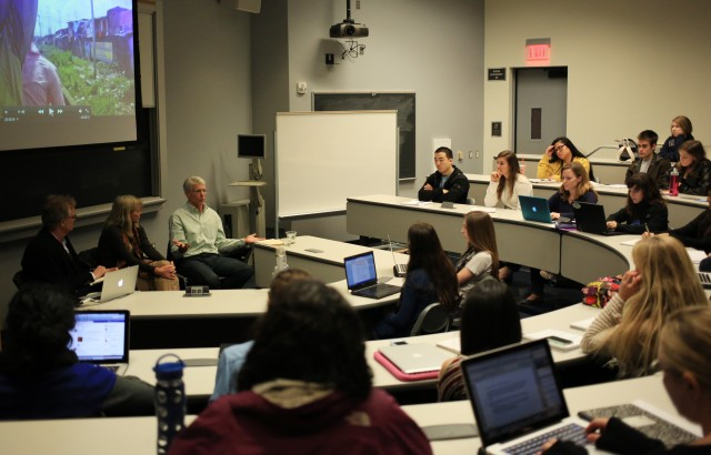 The Institute of the Environment and Sustainability's new class explores the intersection between the environment, journalism and new media.
