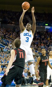 Freshman guard Jordan Adams, who averages 16.6 points per game, will be challenged by a Utah defense that held No. 4 Arizona to just 60 points.