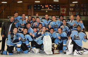Club hockey won its fourth Crosstown Cup in the last 18 years. The team credits much of its success to the positive mentality of coach Mark Francis.