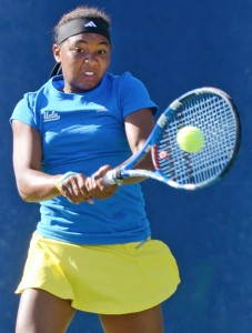 Sophomore Robin Anderson won the USTA/ITA National Indoor Intercollegiate title in the offseason.