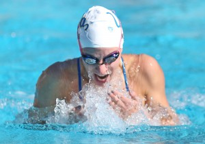 In an attempt to improve, junior swimmer Emily Weir and the Bruins have broken down their swimming technique by adding a video component to their training.