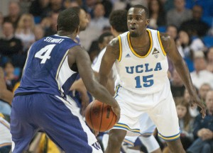Freshman guard/forward Shabazz Muhammad led the UCLA men's basketball team in scoring in its last two home victories. Eleven games into their Pac-12 schedule, the Bruins are in a three-way tie for first place in the conference, which could be broken by the results of this weekend in their third conference trip this season.