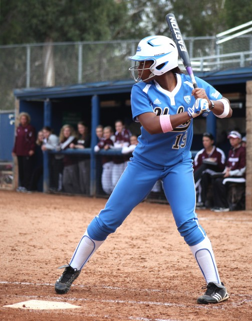 Senior B.B. Bates helped propel the UCLA softball team to victory this weekend, with eight home runs in five games.