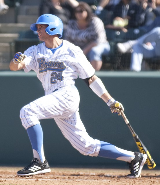 Junior Brian Carroll was a key force behind UCLA's offense this weekend. The Bruins took two out of three from the Baylor Bears.