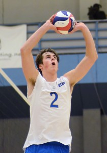 Freshman setter Steve O'Dell was a vital part of No. 7 UCLA's wins this past week – one over USC and one over No. 4 Pepperdine.