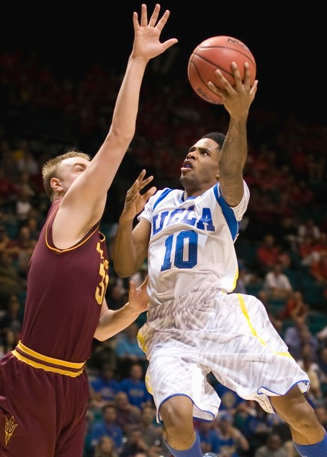 Senior guard Larry Drew II has had to step up for UCLA this season, even though it was his first and only year playing for the program. He has taken on a leadership role and played an important part in many wins, such as the Pac-12 Tournament semifinal against Arizona State, in when he scored 20 points.