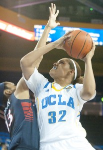 Redshirt senior Alyssia Brewer has been a leader since she arrived at UCLA.