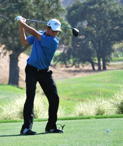 Freshman golfer Jonathan Garrick has shown that he is a stronger player than his years might suggest in a competetive freshman season.