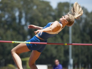 Freshman high jumper Caroline Gyllenbern cites the chance to pursue both sports and academics as motivation for coming to UCLA.