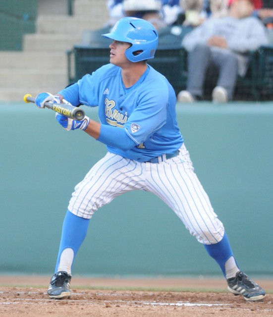 Sophomore Kevin Kramer was the only player who didn't struggle on offense Tuesday – he scored UCLA's only run against Long Beach State.