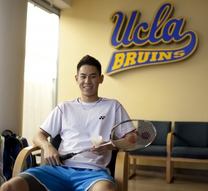 Fourth-year student Howard Shu traveled the world, competing in badminton in various countries and eventually playing for the U.S. national team. He has since returned to school after taking time off to try to make the 2012 Olympics.