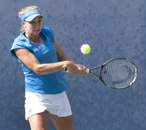 Catherine Harrison will participate in a new doubles matchup this weekend, switching partners from Kyle McPhillips to Pamela Montez.