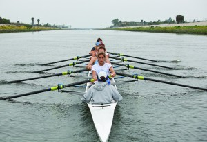 "The process of refining the UCLA women's rowing team includes ""seat races"" in which athletes compete against each other for spots in various races and boats."