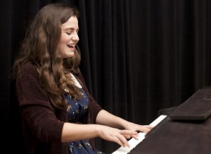 Third-year theater student Halle Charlton will perform as a solo artist at Spring Sing again this year. Just before last year's performance, Charlton created her alto ego Ruby Lee.