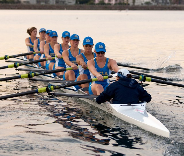 Despite a second-place finish in the varsity four, the UCLA women's rowing team finished less than three seconds behind third-place California in the varsity eight to finish fourth overall at the Pac-12 championships.