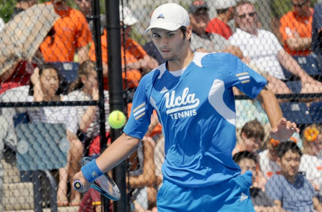 Marcos Giron is one of the UCLA players that will have to make a turnaround today as he competes in the NCAA Individual Championships the day after the team lost the overall title.