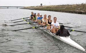 UCLA rowing's varsity eight boat lost to USC by 2.5 seconds, a marked improvement from April's Crew Classic in San Diego, in which UCLA lost to USC by nearly five seconds in the varsity eight.