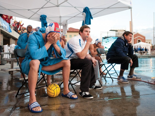 UCLA men's water polo was emotional after surrendering the game-winning goal to USC in the final minute of the Bruins' 11-10 loss in last year's national championship game. UCLA and USC will meet again tonight in the final game of the regular season.