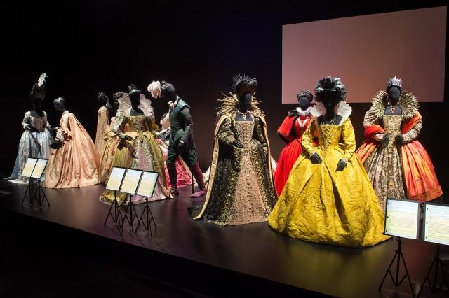 """Hollywood Costume"" traces costume design through the past century. The exhibit displays various period pieces used throughout film history.  (Courtesy of John Harbaugh)"