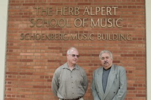 Chair of Musicology Raymond Knapp (left) and Chair of Ethnomusicology Steven Loza (right) are two of the three co-directors that, that helped the Herb Alpert School of Music transition to an independent music school. (Daily Bruin file photo)