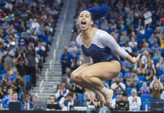 Ucla Gymnastics Triumphs Over Utah With Thrilling Comeback