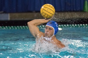 Senior attacker Patrick Fellner had eight goals over two games on day two of the Mountain Pacific Invitational to help land the Bruins a spot in the finals for the eighth year in a row. (Austin Yu/Daily Bruin senior staff)