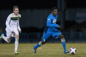 The UCLA men's soccer team's three game winning streak was snapped Friday after an upset by unranked Cal Poly. (Daily Bruin file photo)