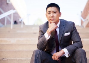 Alumnus Leon Wu created the custom suit company Sharpe Suiting because of his own interest in buying suits that fit bodies of all genders and types. (Hannah Ye/Daily Bruin senior staff)