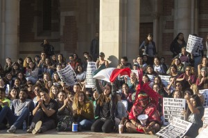 Students and faculty have pushed the University of California to establish concrete programs to help and protect undocumented students. (Habeba Mostafa/Daily Bruin)