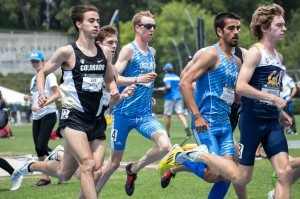 Redshirt senior Austin O'Neil will make his second cross country national championship appearance this weekend. The men's team is ranked 10th in the nation, an 18-spot improvement over this time last year. (Daily Bruin file photo)