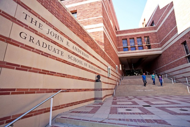 The UCLA Anderson School of Management is one step closer to approval for a $70.8 million expansion to accommodate increased enrollment. (Daily Bruin file photo)