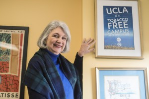 Linda Sarna, the new dean of the UCLA School of Nursing, began her career in healthcare as an undergraduate student in nursing at UCLA and later helped ban tobacco on campus. (Esmeralda Lopez/Daily Bruin)