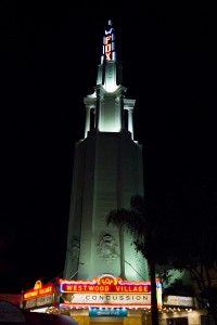 The iconic Regency Village Theater is perhaps the best known landmark in Westwood Village. (Daily Bruin file photo)
