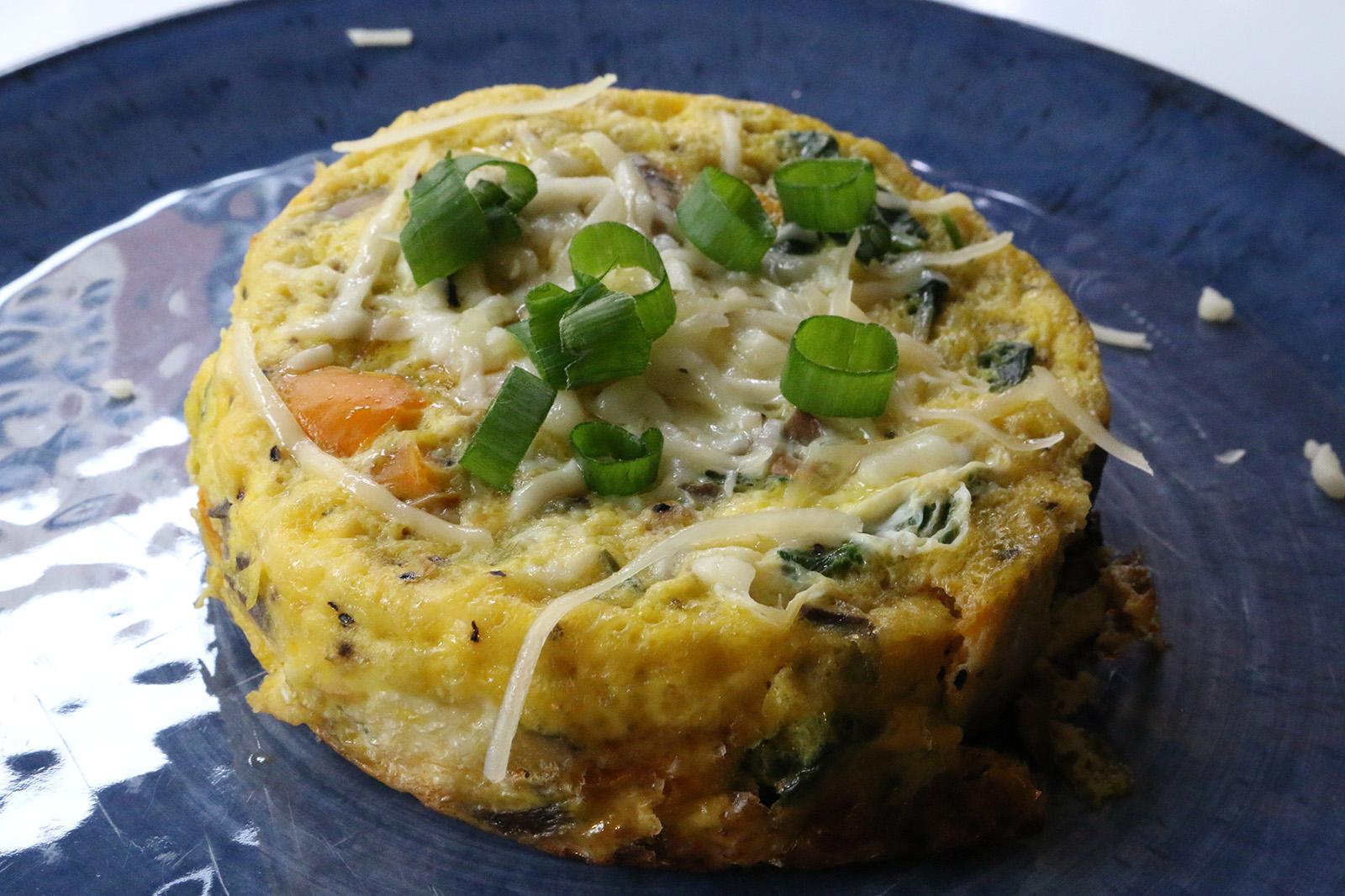 Dorm Dining Rice Cooker Frittata Not A Yolk Get Egg Cited For Omelet Alternative Daily Bruin