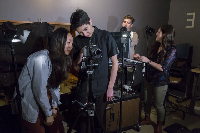 """Prom: Festival of Animation"" is a showcase of original short films made by UCLA students, both within and outside of the animation program. The event will take place Saturday and feature around 40 student-made films. (Alyssa Dorn/Daily Bruin staff)"