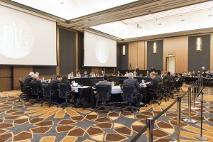 At the University of California Board of Regents' bimonthly board meeting at UC San Diego on Wednesday, regents discussed campus admissions verification procedures and the UC's upcoming budget, among other topics. (Daily Bruin file photo)