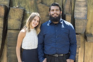 Guillermo Ojeda and Macy Ragole are creating the Mental Health Caucus to provide collaboration and networking opportunities in mental health for graduate students studying social welfare. (Michael Zshornack/Photo editor)