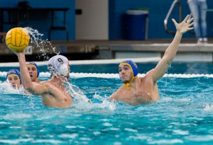 No. 3 UCLA men's water polo took down No. 5 Pacific for the second time this season on Saturday. Senior center Matt Farmer led the way for the Bruins scoring four of team's twelve goals. (Amy Dixon/Assistant Photo editor)