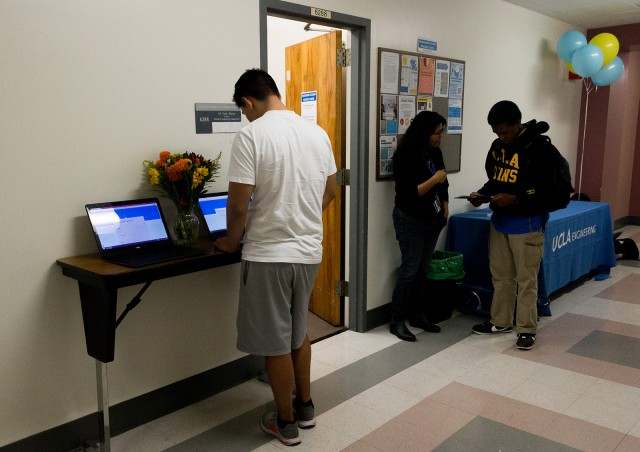 Engineering students will have access to a centralized location for resources at the new transfer center, located in Boelter Hall 6288. (Laura Uzes/Daily Bruin)
