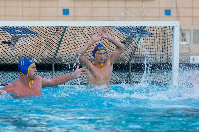 Senior goalkeeper Aleksander Ruzic has been splitting time with redshirt sophomore Alex Wolf in the cage for UCLA. Ruzic is allowing .32 goals less per game than Wolf has so far this season. (Amy Dixon/Assistant Photo editor)