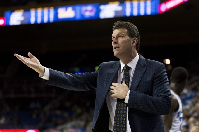 Wednesday night's game against Montana was coach Steve Alford's squad's first of five non-conference games remaining on their schedule before Pac-12 play begins. (Michael Zshornack/Daily Bruin)