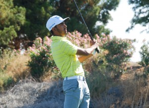 UCLA men's golf finished second at the El Macero Classic over the weekend. Freshman Devon Bling led the way for the Bruins, finishing in a tie of fifth place on the individual leaderboard after shooting 5-over par. (UCLA Athletics)