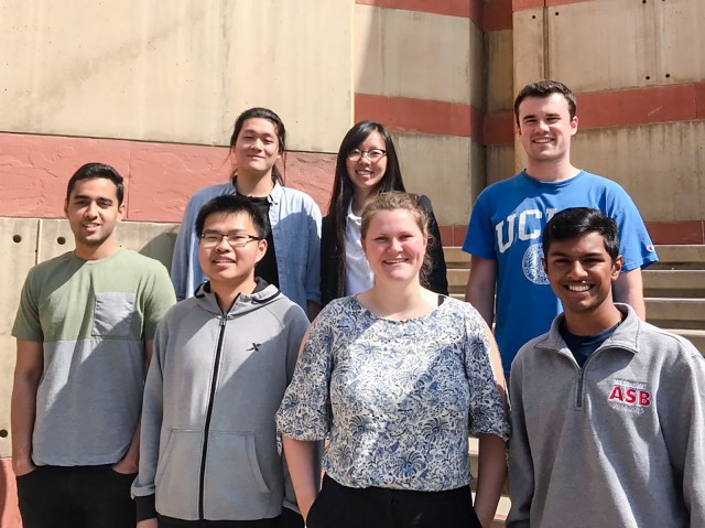 DevX, a club that creates apps and online products geared toward UCLA students, held a soft launch earlier this month for BQuest, a website that links students considering different majors with upperclassmen ambassadors from similar fields of study. (Photo courtesy of Linea Anderson)