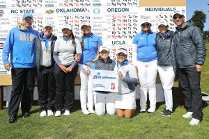UCLA women's golf punched its ticket to the national championship Wednesday after finishing second at the NCAA regional in San Francisco. The Bruins will be competing for the fourth championship in program history. (Courtesy of UCLA Athletics)