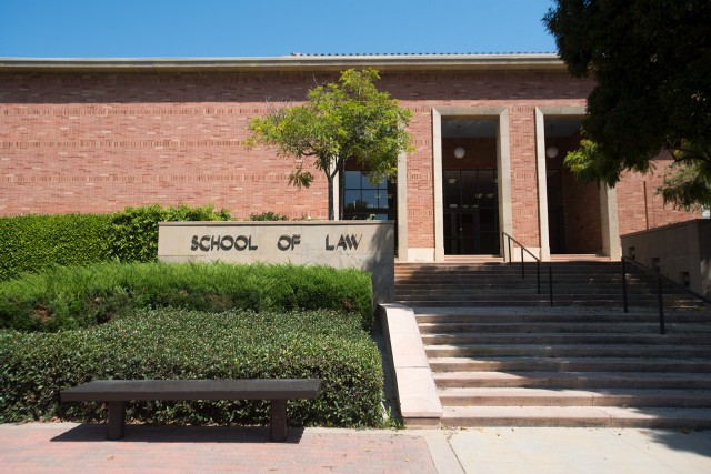 The LSAT recently shifted to a fully online format. The UCLA School of Law requires applicants take either the LSAT or the GRE for admission. (Daily Bruin file photo)