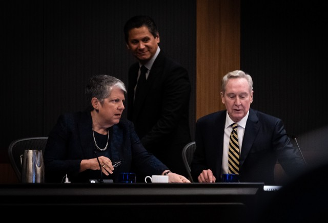 The University of California Board of Regents met for the second day of its May meeting and discussed a system-wide audit of the admissions process, raised Professional Degree Supplemental Tuition at UC Berkeley and discussed LGBTQ initiatives across the UC. (Daily Bruin file photo)
