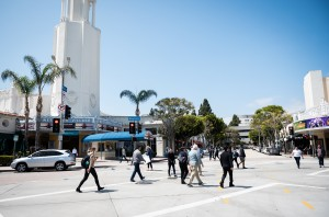 A Los Angeles Police Department report indicated a 37% increase in part one crimes in the Westwood Village area when compared with counts from January 2018 to May 2018. Part one crimes include armed robberies, aggravated assault, burglaries and burglary theft from motorized vehicles. (Daily Bruin file photo)