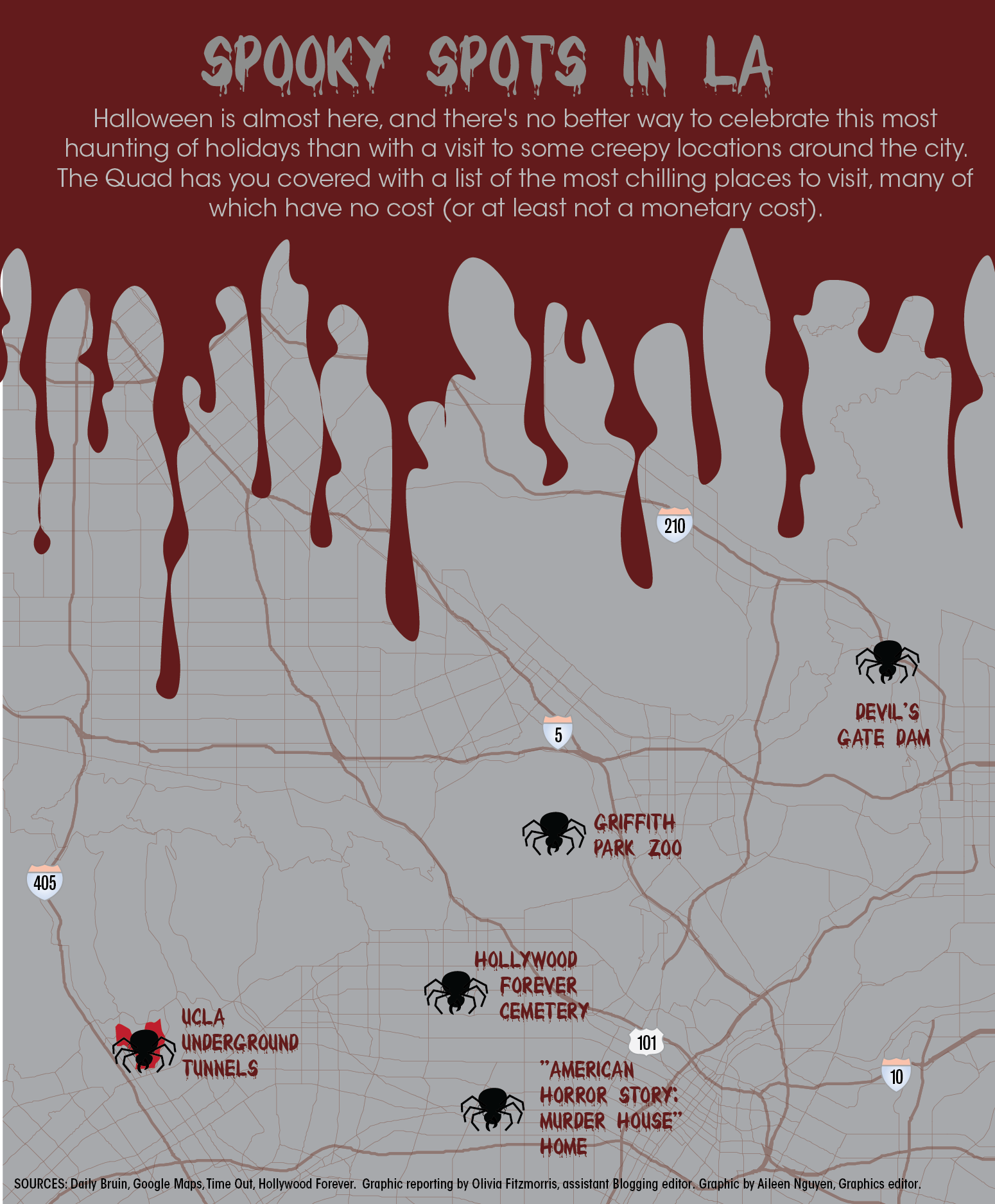 Halloween At Ucla 2020 The Quad: Exploring Los Angeles' spookiest haunts this Halloween