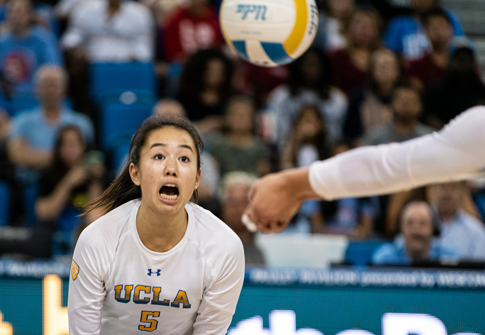 In 3rd Consecutive Win Women S Volleyball Serves California A Loss Daily Bruin