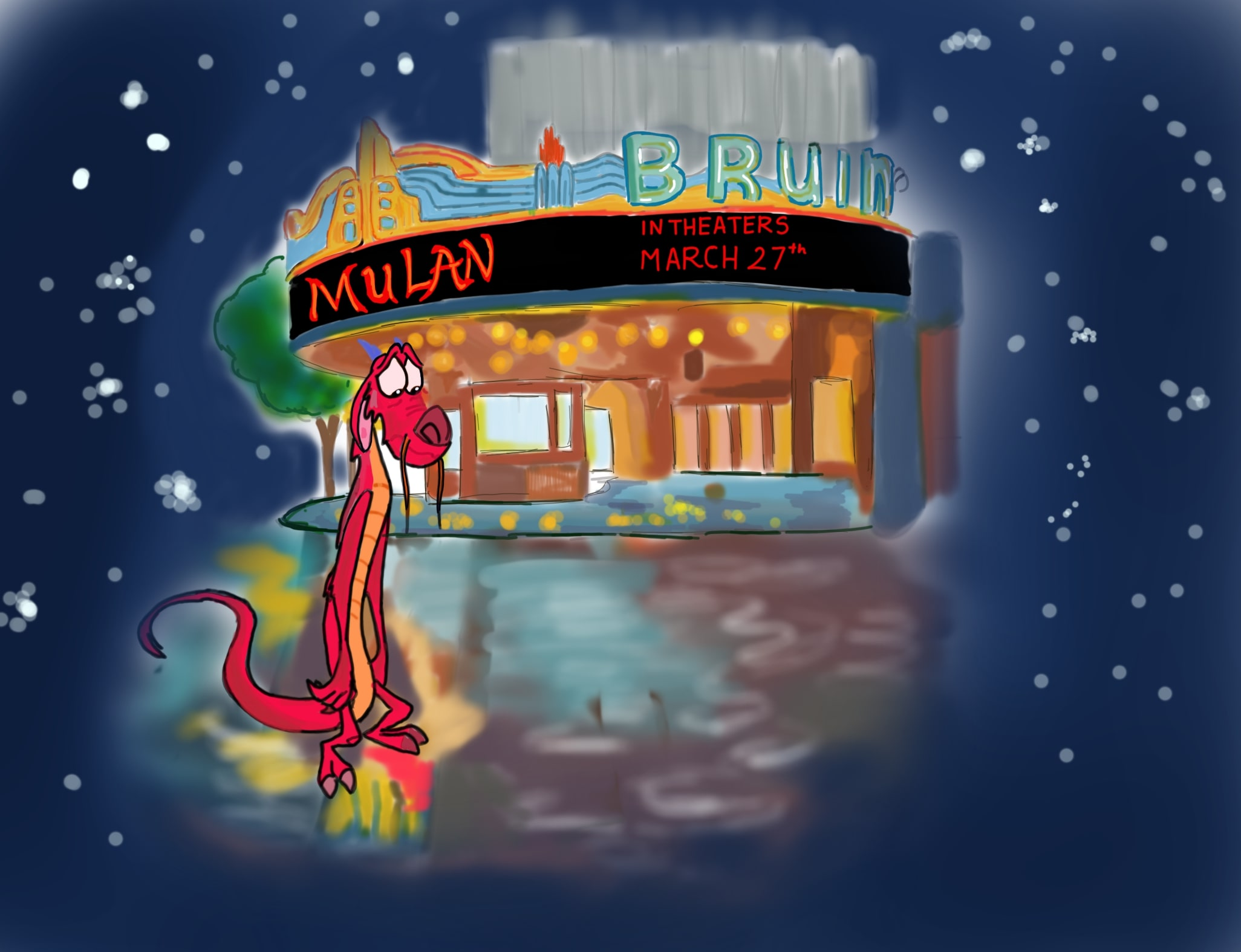 Recent Rewinds Live Action Mulan Sacrifices Mushu And Music For Cultural Accuracy Realism Daily Bruin